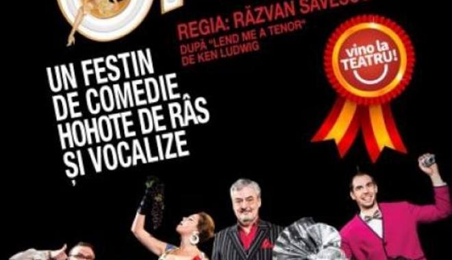 """Foto: """"Panică la operă"""", dar pe scena Casei de Cultură"""