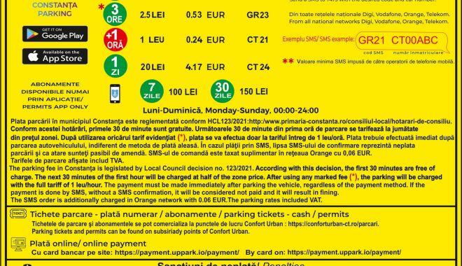 Începe taxarea locurilor de parcare din Constanța. Prima tarifare, din 18 iunie! - panourideinformare3-1623856477.jpg