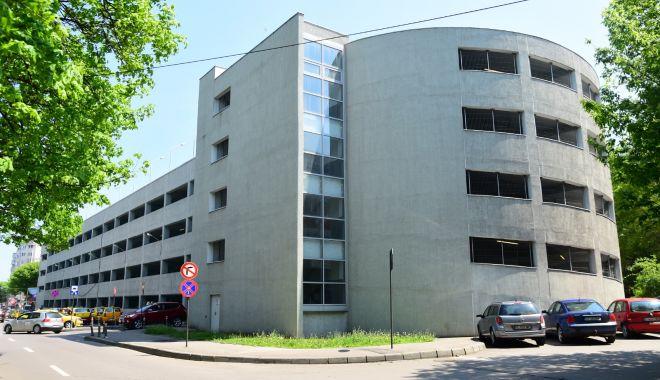 Foto: Primăria Constanța închide temporar parcarea supraetajată de la Spitalul Județean