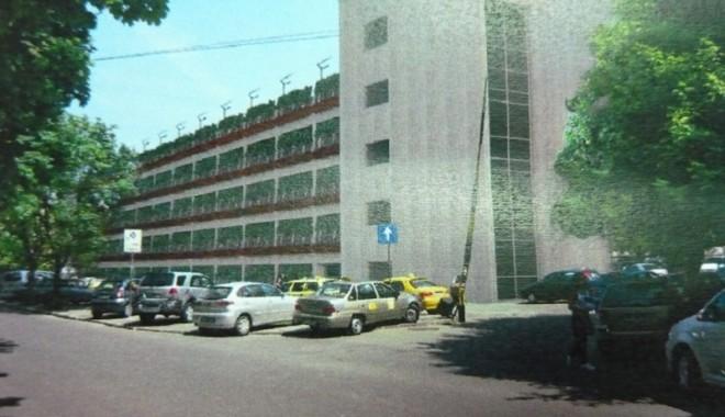 Parcare supraetajată la Spitalul Județean Constanța - parcarespital2-1315510455.jpg