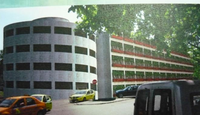 Parcare supraetajată la Spitalul Județean Constanța - parcarespital3-1315510486.jpg