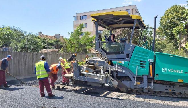 Foto: Confort Urban a amenajat o nouă parcare pe strada Castanilor