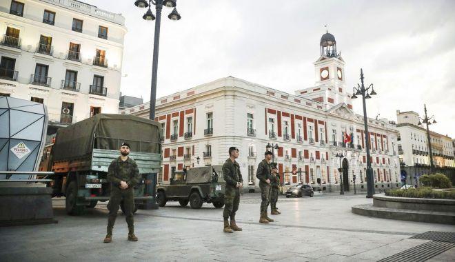 Foto: Parlamentul spaniol autorizează prelungirea stării de urgență până la 12 aprilie