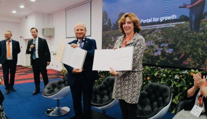 Foto: Parteneriat româno - olandez pentru educație agricolă
