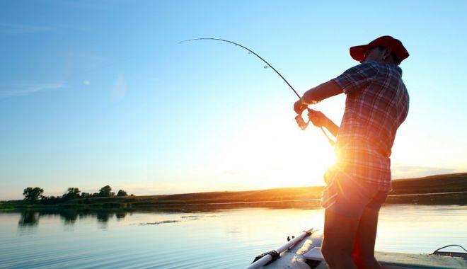 Foto: Tragedie pe lacul Oltina. Partidă de pescuit fatală