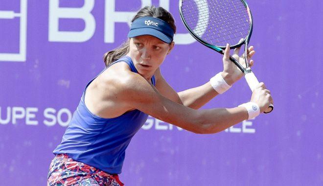 Foto: Tenis, WTA Palermo / Patricia Maria Țig, eliminată în turul întâi