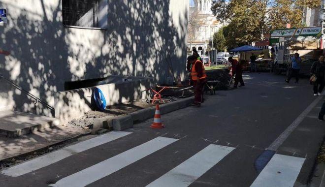 Foto: Patru treceri noi de pietoni, la Constanța