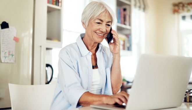 Foto: Înscrierile noi de pensii se fac telefonic sau prin e-mail