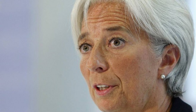Foto: Christine Lagarde: FMI va revizui în scădere estimările de creștere a economiei mondiale