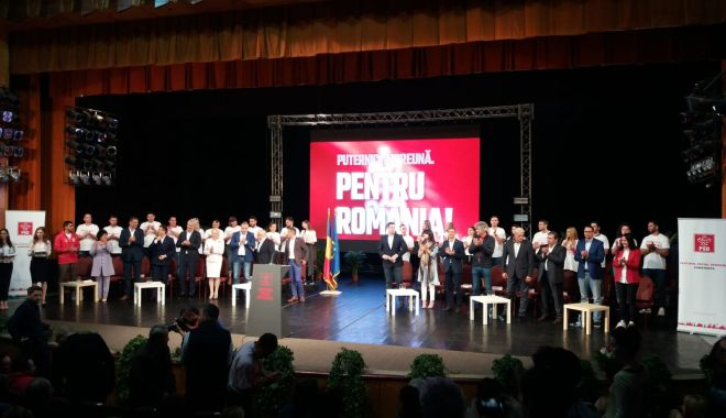 Foto: GALERIE FOTO / Viorica Dăncilă și-a lansat candidatura la Constanța