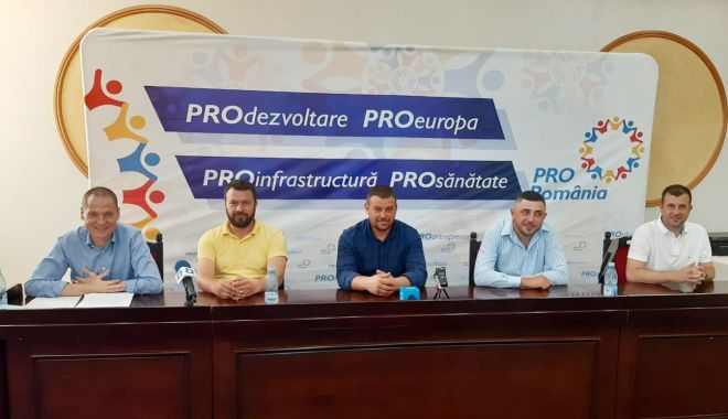 Foto: Pro România și-a prezentat candidații la primăriile Cobadin, Crucea și Mihail Kogalniceanu