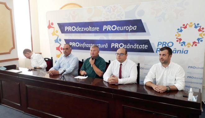 Foto: Pro România și-a anunțat candidații pentru Primăriile Ovidiu, Aliman și Albești