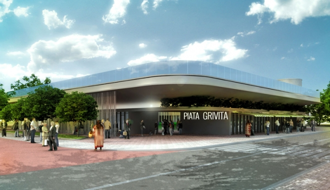 Foto: Piețele Grivița și I.L. Caragiale se modernizează. Cum vor arăta cele două obiective