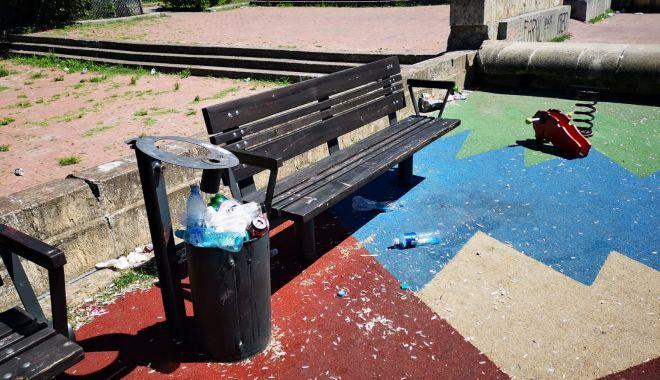 Foto: Primăria Constanța, apel către cei care vandalizează bunurile publice