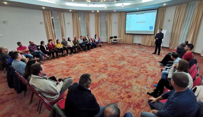 Foto: Candidații PLUS Constanța, pregătiri pentru alegerile locale