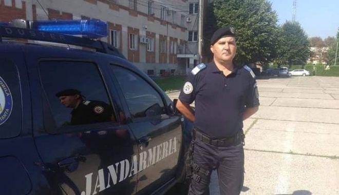 Foto: Un jandarm din Constanța a fost medaliat la sediul Ministerului Afacerilor Interne