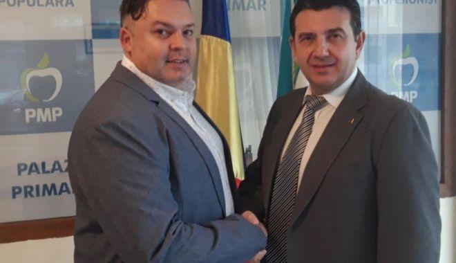 Foto: Dumitru Dorin Jeanu, candidat PMP la Primăria Costinești