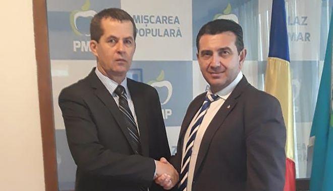 Foto: Viorel Ailincăi, candidat PMP la Primăria Poarta Albă