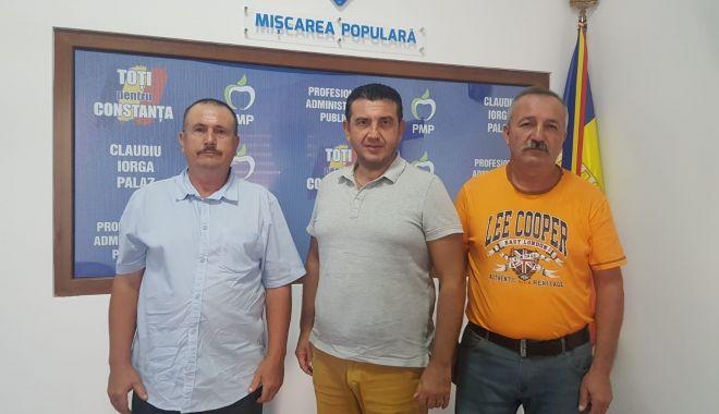 Foto: PMP și-a desemnat candidatul la Primăria Independența