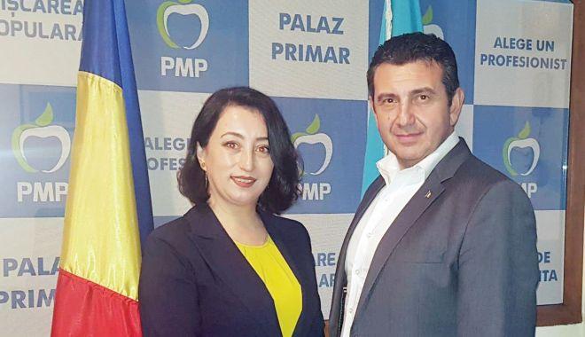 Foto: Demisie din USR. Iasemin Agi-Murat, candidatul PMP la Primăria Medgidia