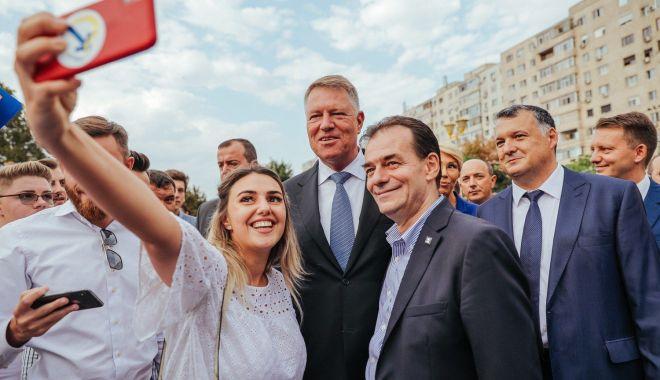 """Foto: Președintele PNL Constanța, deputatul Bogdan Huțucă: """"Constanța merită mai mult! Votăm Klaus Iohannis!"""""""
