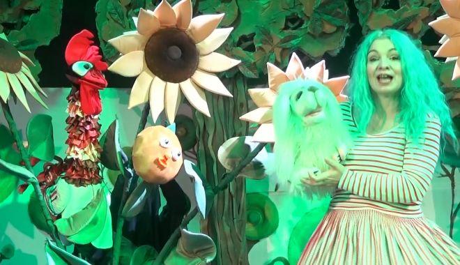 Copiii sunt invitaţi în lumea magică a poienii cu poveşti - poianacupovestisursateatrulcalut-1606931380.jpg