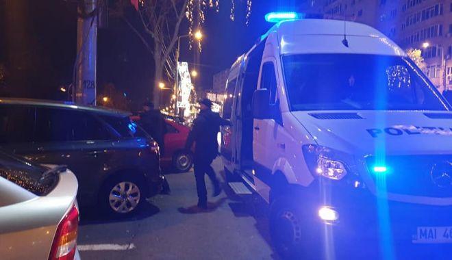 Foto: Colet SUSPECT în zona Casa de Cultură! Specialiștii Poliției Constanța, cercetări la fața locului