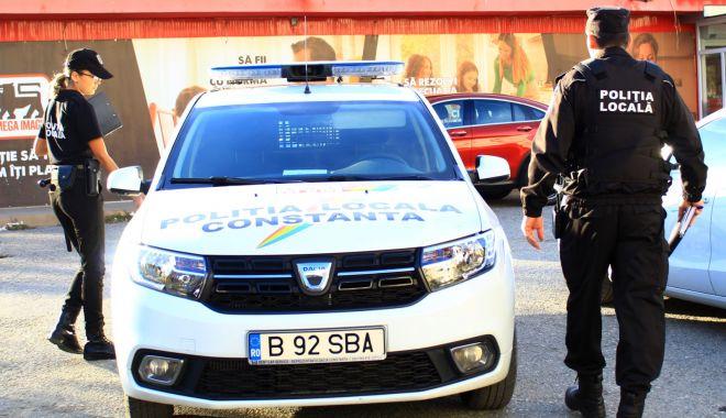 Foto: Acțiune a Poliției Locale Constanța. S-a lăsat cu amenzi!
