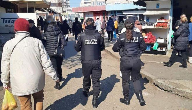 Controale în zona piețelor Tomis III, Brotăcei, Cireșica și Tic-Tac. Ce au descoperit polițiștii - politie-1615534382.jpg
