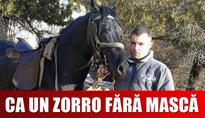 DE NECREZUT: Polițistul care prinde hoți călare și însoțit de un pitbull - politistcalare-1359451922.jpg