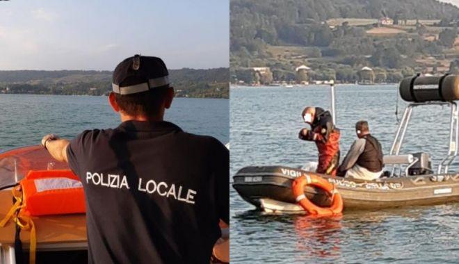 Un român a dispărut într-un lac din Italia - polizia-1631553185.jpg