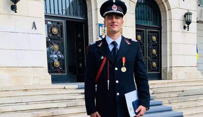 Scafandru din cadrul ISU Dobrogea, recompensat de Ministerul Afacerilor Interne - pompieremblemasursaisudobrogea22-1600196424.jpg