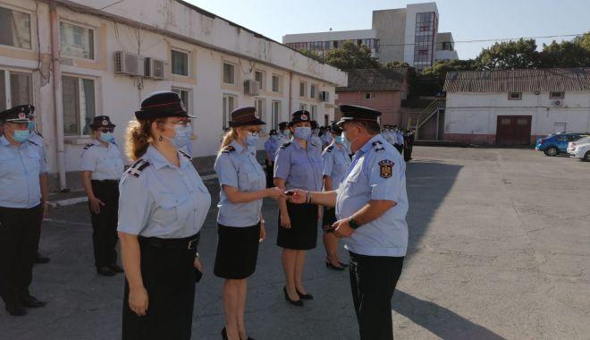 Foto: Pompieri din cadrul ISU Dobrogea avansați în grad