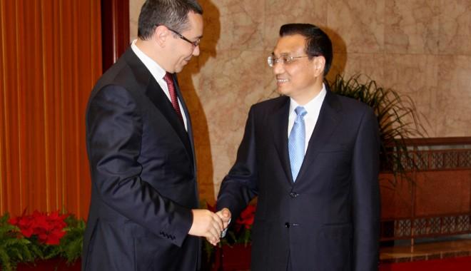 Zi decisivă pentru relațiile China-Europa Centrală și de Est - ponta-1385454529.jpg