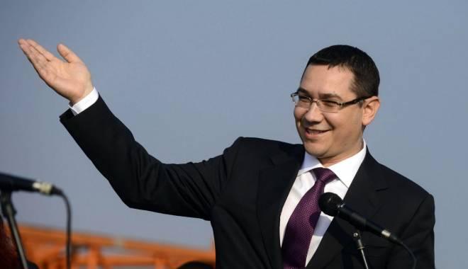 Foto: Ponta pune condiții ziariștilor care vor să-i pună întrebări