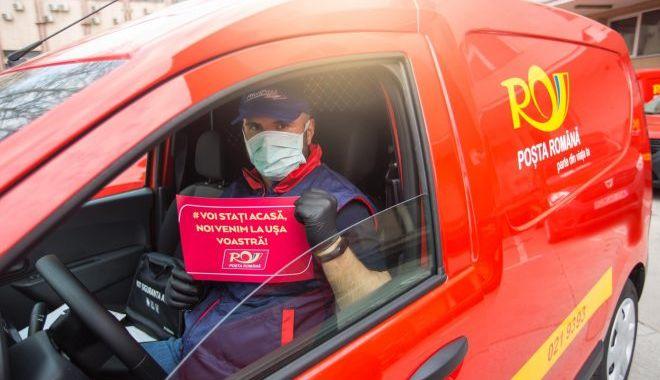 Foto: Premieră pentru Poșta Română. Se deschide o cursă poștală auto către Germania