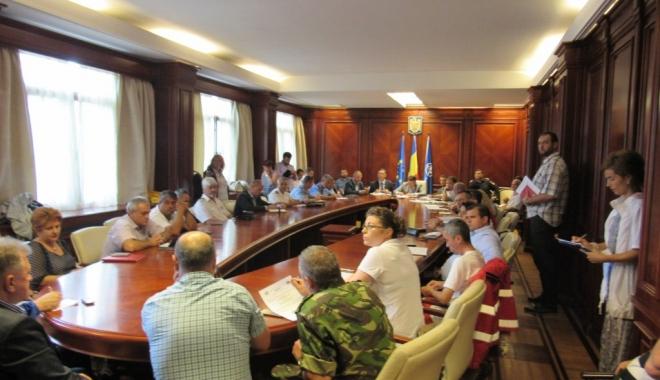 Foto: Prefectul Ioan Albu a convocat Comitetul pentru Situații de Urgență. Ce spun autoritățile