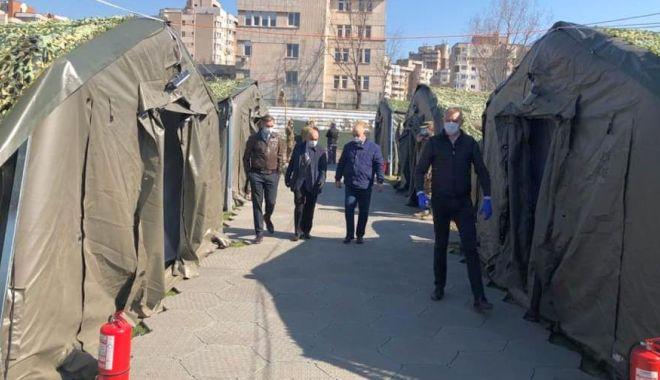 """Foto: FOTO. Spitalul militar de pe stadionul """"Portul"""" așteaptă avizele de funcționare!"""