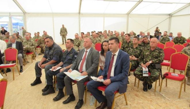 Foto: Reprezentanții Prefecturii Constanța, prezenți la încheierea Exercițiului  Tobruq Legacy 2017