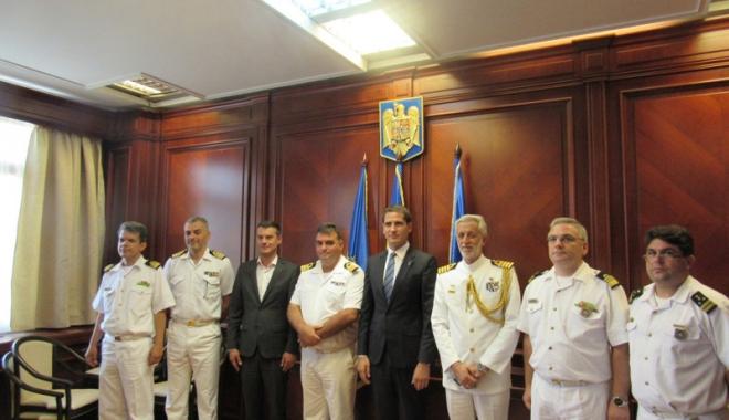 Foto: Delegație din Grecia, vizită la Prefectura Constanța