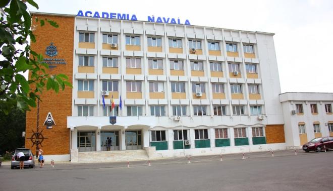 """Foto: Eveniment de marcă la Academia Navală """"Mircea cel Bătrân"""""""