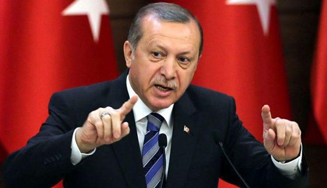 Foto: Președintele Erdogan critică țările UE pentru că tolerează grupările teroriste