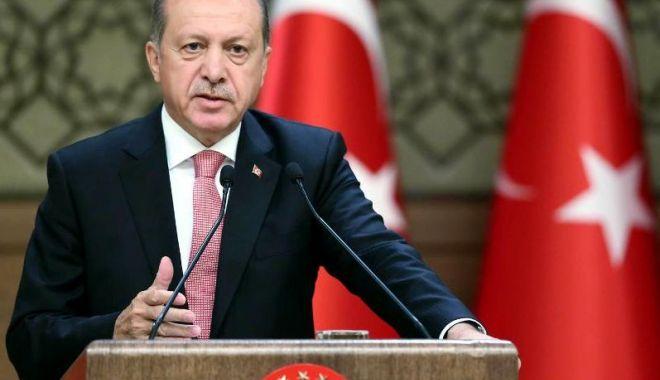 Foto: Președintele Turciei cere respectarea armistițiului în regiunea siriană Idleb