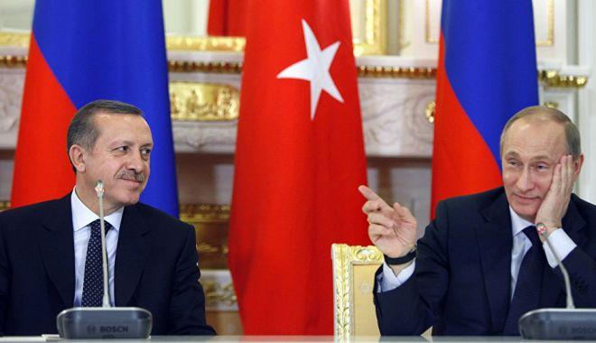 Foto: Președintele Turciei, așteptat, mâine, într-o vizită la Moscova