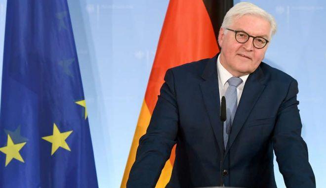 Foto: Președintele Germaniei a temperat aspirațiile Georgiei la o aderare grabnică la UE