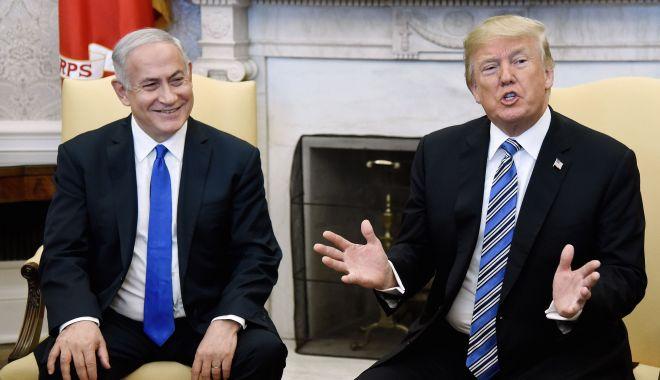 Foto: Președintelui Trump îi este greu să creadă că Israelul ar fi spionat Casa Albă