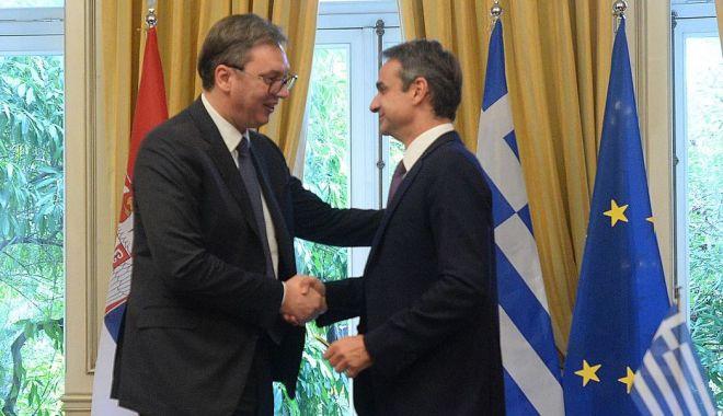 """Foto: Prim-ministrul grec: """"Locul Serbiei este în Uniunea Europeană"""""""