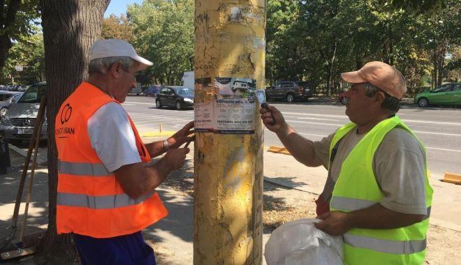 Primăria avertizează! Amenzi pentru afișajul stradal ilegal în Constanța - primariaavertizeaza-1567523690.jpg