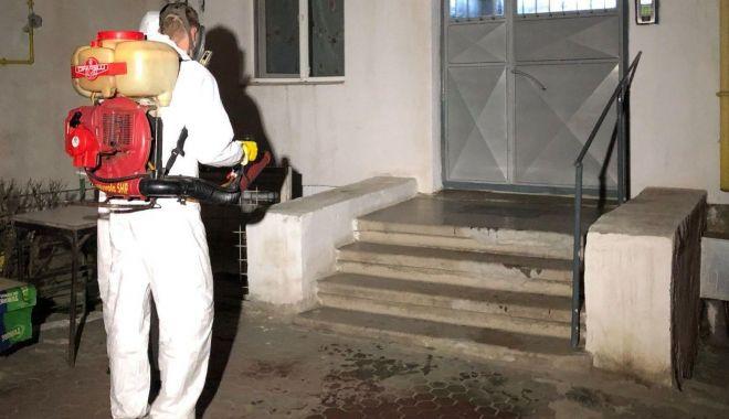 Primăria Medgidia, acțiune de dezinfectare a scărilor de la blocurile din municipiu - primariamedgidia-1585854426.jpg