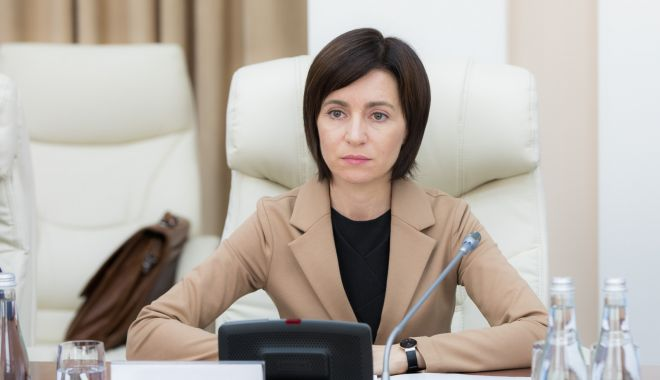 "Foto: Prim-ministrul Maia Sandu: ""Nu vom accepta federalizarea ca soluție la conflictul transnistrean"""